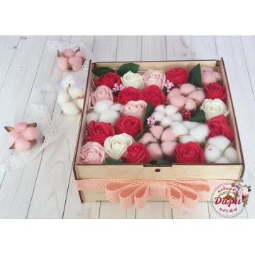 Подарочный бокс в деревянной коробке (Арт.БП019) () фото 1