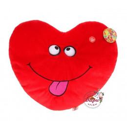Мягкая игрушка интерактивная «Сердце»          ()