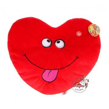 Мягкая игрушка интерактивная «Сердце» (Арт.И017) () фото 1